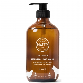 Tea tree oil dog wash